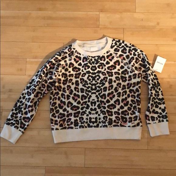 981b41727145 MOTHER Sweaters | Brand New W Tags Leopard Print Sweater | Poshmark